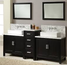 dual vanity bathroom: pretentious design double vanity bathroom sinks sink clog small with for