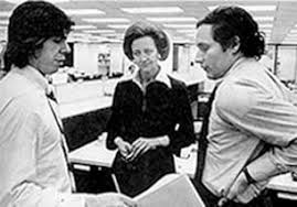 Image result for woodward & bernstein