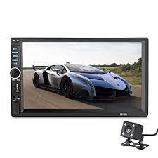 【Summdey 】<b>2 Din</b> Car Stereo 7 Inches <b>Universal HD</b> BT FM ...