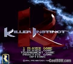 Resultado de imagen para killer instinct snes