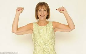 Image result for old woman short sleeves flabby arms
