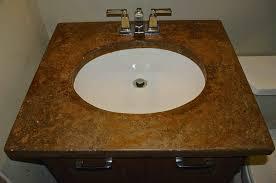 idea bathroom sink countertop combo countertops