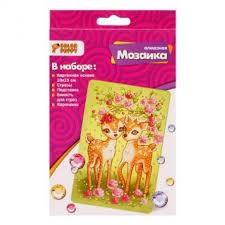 Набор <b>Color Puppy</b> Алмазная мозаика - Оленята 95415 Артикул ...