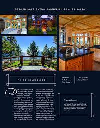 luxury print flyer sample granger properties of lake tahoe luxury print flyer front