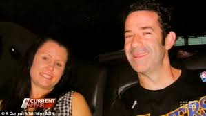 Before: Simone and Trevor, pictured here years before her attack at the hands of Glenn Cable, are now in love again - article-2621069-1D98CC7500000578-333_634x358