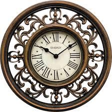 <b>Часы настенные Energy ЕС-120</b>, 54 009494, коричневый