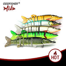 1PCS Crankbait <b>Fishing</b> Lures Wobbler <b>Lifelike</b> 20cm <b>8 Segment</b> ...
