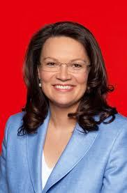 Andrea Nahles. Die solidarische gesetzliche Krankenversicherung ist die tragende Säule unseres Gesundheitssystems. Sie sichert die gute medizinische ... - Andrea-Nahles1