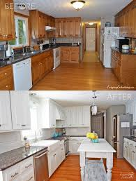 Kitchen Cabinet Makeover Diy Update Your Kitchen Thinking Hinges Evolution Of Style