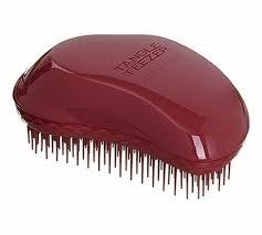 "<b>Расческа</b> ""<b>Thick</b> & Curly"" бордовая бренда <b>Tangle Teezer</b> – купить ..."