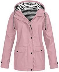 Pink - Coats, Jackets & Gilets / Women: Clothing - Amazon.co.uk