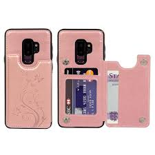 Leather Shell with <b>Card Slots Wallet Case</b> Cover Samsung Galaxy ...