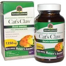 Nature's Answer, <b>Cat's Claw</b>, <b>1,350 mg</b>, 90 Vegetarian Capsules ...