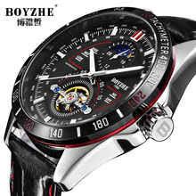 <b>BOYZHE Men's Automatic Mechanical</b> Fashion Top Brand Sports ...