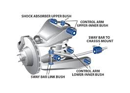 superpro suspension  s and poly bushings for holden bedford cf    front suspension diagram for holden bedford cf