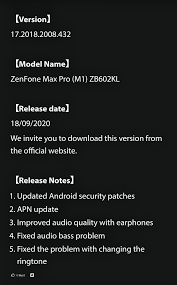 <b>asus zenfone max pro</b> m1 android 10 beta 4/stable update