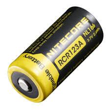 <b>Аккумулятор</b> NITECORE NL166 RCR123/16340 — купить в ...