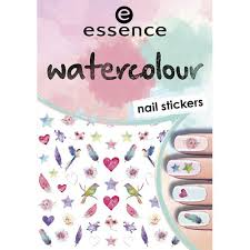 <b>Наклейки для ногтей</b> `ESSENCE` WATERCOLOUR <b>NAIL</b> ...