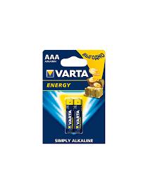 <b>Батарейка VARTA</b> LR03 1.5V (<b>AAA</b>) (2 шт.) — купить в Петровиче ...