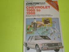 Repair Manuals & Literature for 1968 <b>Chevrolet Caprice</b> for sale | eBay