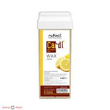 Cardi <b>Воск для депиляции</b> в картридже - Ароматный <b>лимон</b> - 100 мл