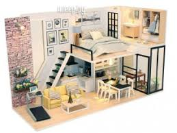 Купить <b>DIY House MiniHouse</b> Студия в стиле модерн M038 по ...