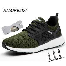 <b>NASONBERG</b> Indestructible <b>Shoes</b> Work <b>Sneakers</b> Breathable ...