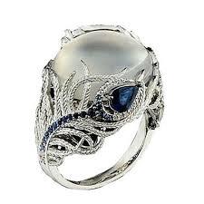 Women's Statement <b>Ring</b> Cubic Zirconia <b>1pc</b> White Silver-Plated ...