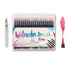 Watercolor Brush Pens Set - Premium Soft Flexible ... - Amazon.com