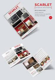 17 interior decoration brochure word psd pdf eps interior design bi fold brochure template