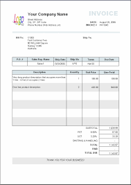 service invoice format in word invoice template  best invoice format middot invoice sample format