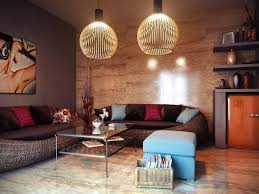 marble flooring living room cream living room cheerful eclectic pendant lamp living room rattan material