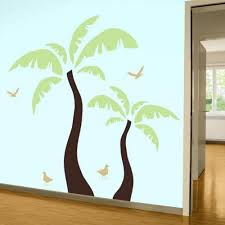 palm tree wall stickers:  images about beach wall decals on pinterest palm trees vinyls and vinyl wall art