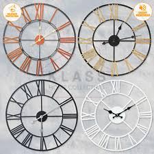 Metal <b>Roman Numerals</b> Clocks for sale | eBay