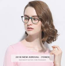 B <b>Pure Titanium Glasses</b> Frame Men Ultralight <b>Acetate</b> Women 2018 ...