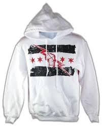 CM Punk Best In The World White <b>Pullover</b> Hoody <b>Sweatshirt New</b> ...