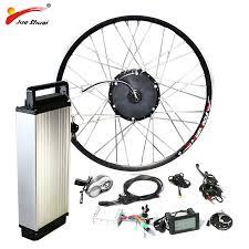 <b>48V 500W Electric Bike</b> Conversion Kit with Battery 48V 12AH Hub ...