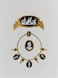 luigi saulini florence nightingale nurse and parure tiara necklace and brooch