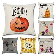 Home Textile Pillow <b>Case</b> New Design <b>Cartoon</b> Series <b>Halloween</b> ...