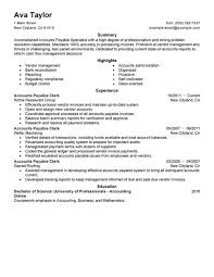 best accounts payable specialist resume example   livecareeraccounts payable specialist resume example