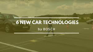 6 <b>new car</b> technologies by <b>Bosch</b> - YouTube