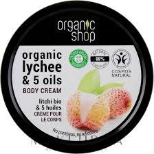 """<b>Крем для тела</b> """"<b>Розовый</b> личи"""" - Organic Shop Body Cream ..."""