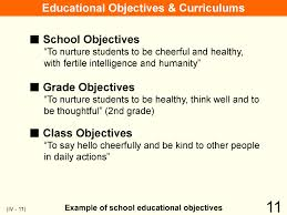 educational system practice in 11 iv organization implementation curriculum this is an example of educational
