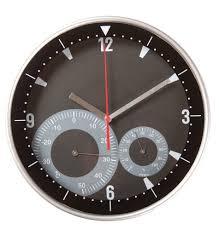 <b>Часы настенные Rule с</b> термометром и гигрометром с логотипом ...
