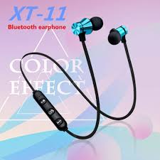 <b>W12 XT-11 Magnetic Bluetooth</b> Headphone Stereo Sports ...