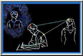 Resultado de imagem para cientistas analisam cerebros de médiuns durante psicografia
