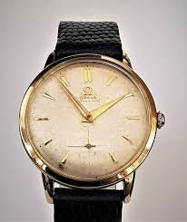 "Omega - <b>Solid 14k yellow gold</b> Bumper Automatic 1947 - ""NO ..."