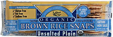 Edward & Sons Organic Unsalted Plain Brown Rice Snaps ... - Kroger