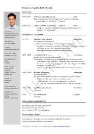 resume template outline format sample resume for chinese teacher resume