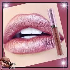handaiyan sparkly glitter lipstick waterproof lip stick long lasting pigment mermaid shimmer lipsticks professional makeup tint